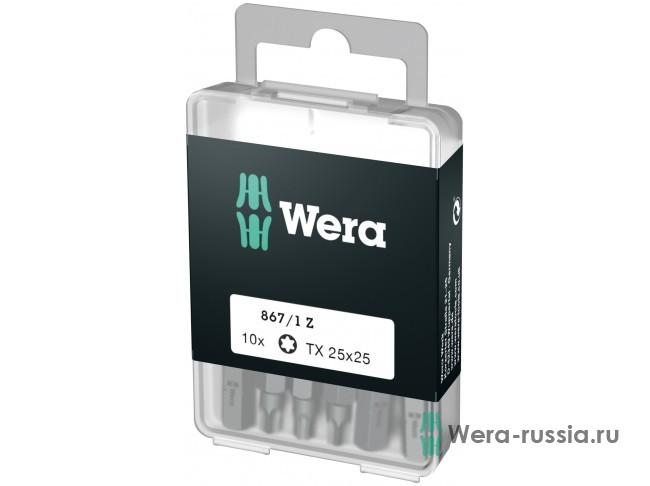 867/1 Z DIY TORX® 10 шт. TX 25 072409 WE-072409 в фирменном магазине Wera