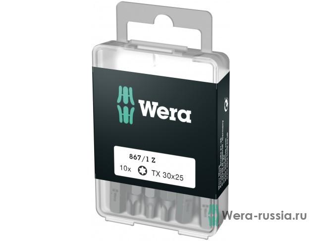 867/1 Z DIY TORX® 10 шт. TX 30 072411 WE-072411 в фирменном магазине Wera