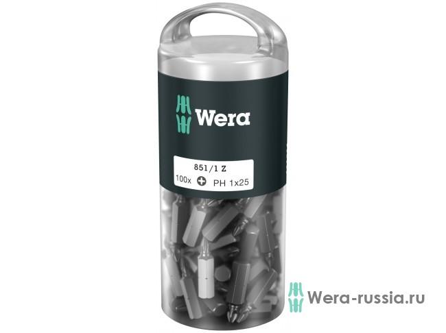 851/1 Z DIY 100 x PH 1 072440 WE-072440 в фирменном магазине Wera