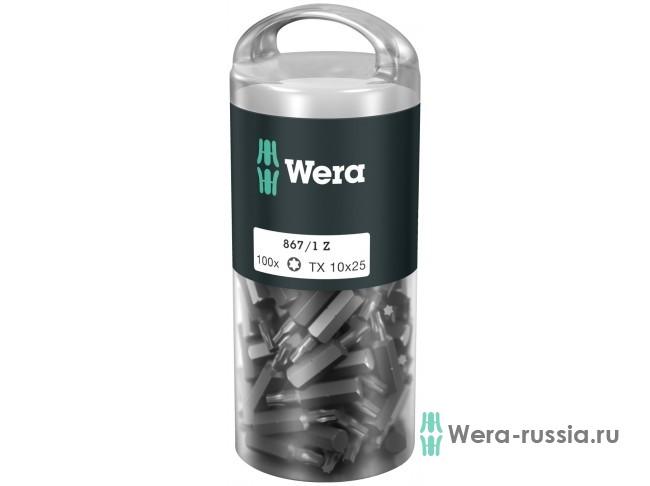 867/1 Z TORX® DIY 100 шт. TX 10 072446 WE-072446 в фирменном магазине Wera
