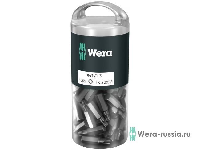 867/1 Z TORX® DIY 100 шт. TX 20 072448 WE-072448 в фирменном магазине Wera