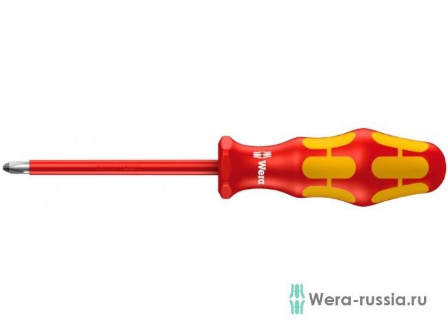 Kraftform Plus 165 i PZ VDE, PZ 2 / 100 мм, 006164 WE-006164 в фирменном магазине Wera
