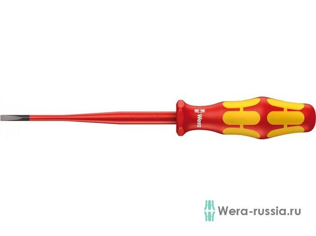 Kraftform Plus уменьшенный Ø стержня, 160 iS VDE, 0.6x3.5x100 мм WE-006440 в фирменном магазине Wera