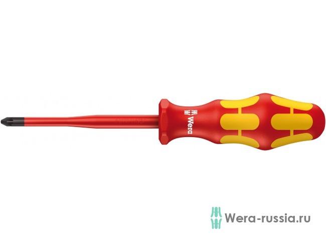 Kraftform Plus 165 iS PZ VDE, PZ 2 / 100 мм, уменьшенный Ø рабоч WE-006461 в фирменном магазине Wera