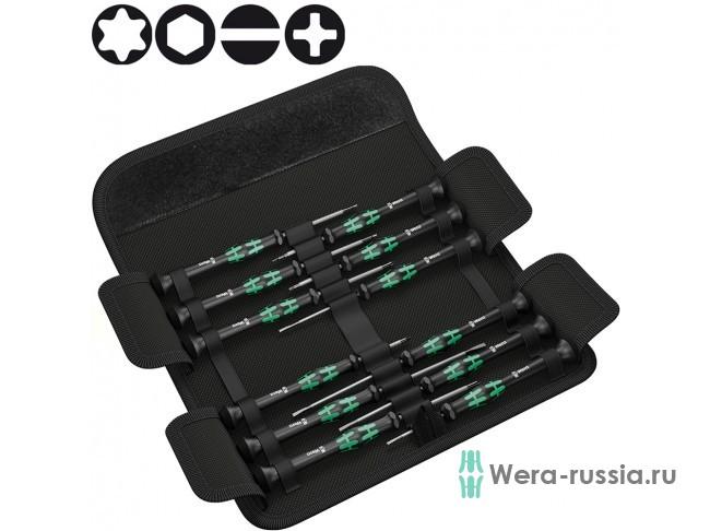 Kraftform Micro-Set/12 SB 1, для электроники 073675 WE-073675 в фирменном магазине Wera