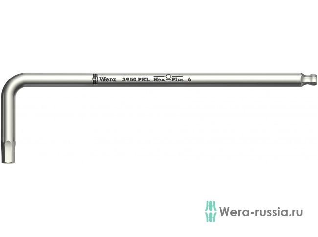 3950 PKL, нержавеющая сталь, метрический, 6x172 мм 022706 WE-022706 в фирменном магазине Wera