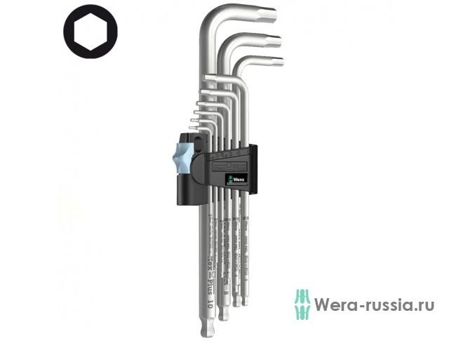 3950 PKL/9, нержавеющая сталь, 9 шт 022720 WE-022720 в фирменном магазине Wera