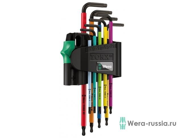 967 SPKL/9 TORX® BO Multicolour BlackLaser 024335 WE-024335 в фирменном магазине Wera