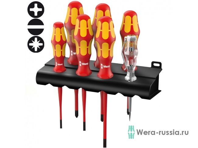 Kraftform Plus с уменьшенным Ø стержня 160 iS/7 Rack , 006480 WE-006480 в фирменном магазине Wera