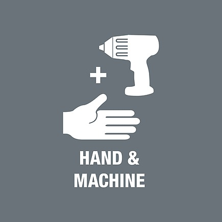 насадные инструменты с ручным и машинным приводом