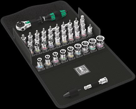 8100 SA All-in Набор с трещоткой Zyklop Speed, с фиксирующей функцией, привод 1/4