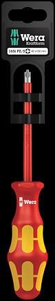 165 i PZ/S SB VDE Изолированная отвертка для винтов PlusMinus (Pozidriv/шлиц)